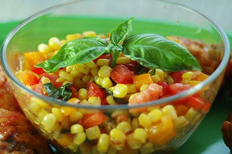 Mısırlı Salata Nasıl Yapılır ?