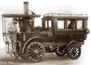 İlk Buhar Motorlu Araç Hangi Amaçla Üretilmiştir?